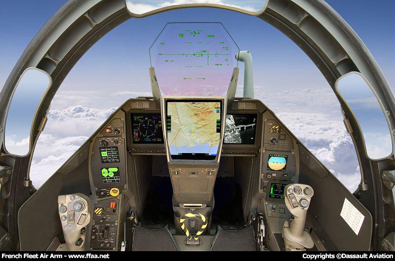Caract ristiques du dassault aviation rafale m in french for A l interieur de l avion